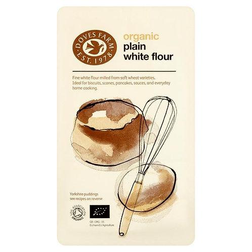 Organic Plain White Flour