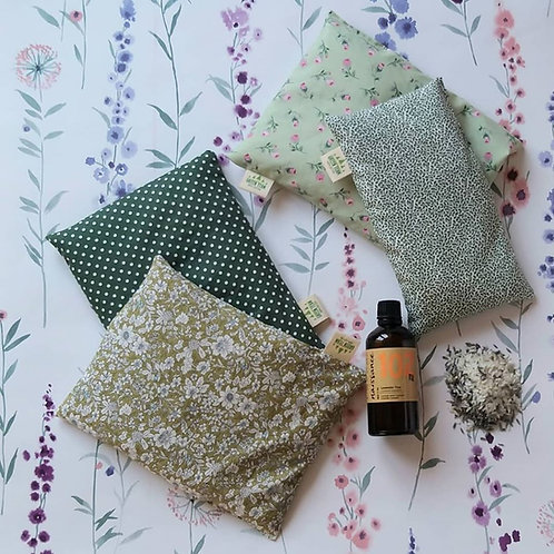 The Green team, Local Lavender Rice bag - large