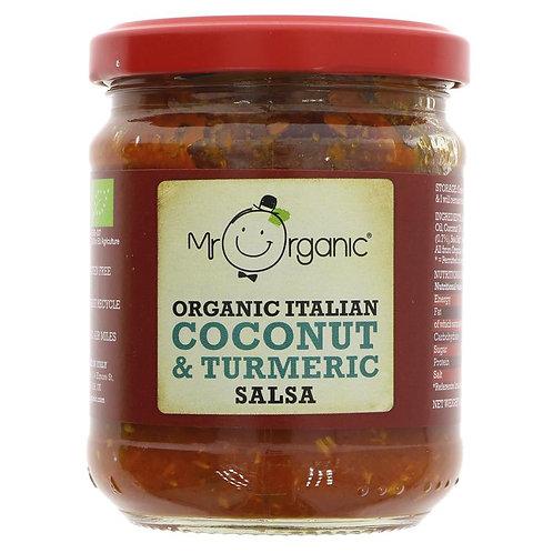Mr Organic Italian Coconut & Turmeric Salsa