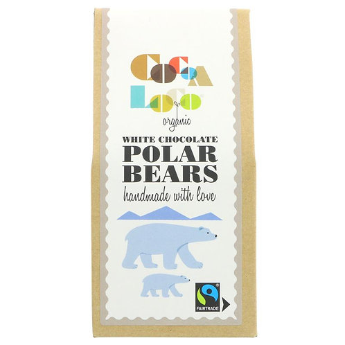 Cocoa Loco White Chocolate Polar Bears