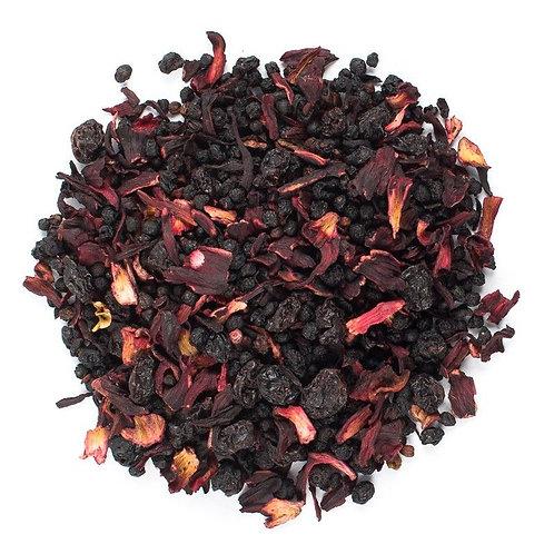 Elderberry and Hibiscus Loose Tea