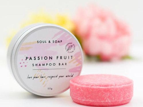 Soul & Soap Shampoo Bar - Passion Fruit