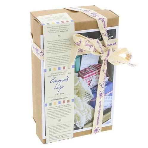 Emma's Soap Bamboo Gift Set