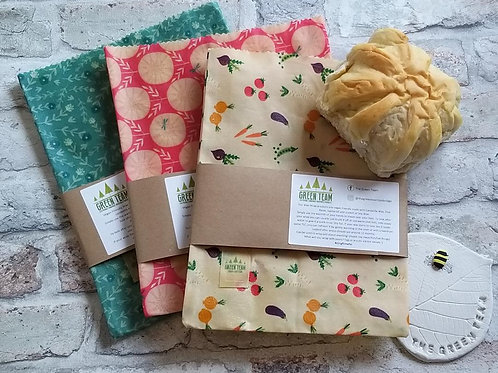 Green Team Vegan Friendly Candelilla Wax Reusable Sandwich Bag