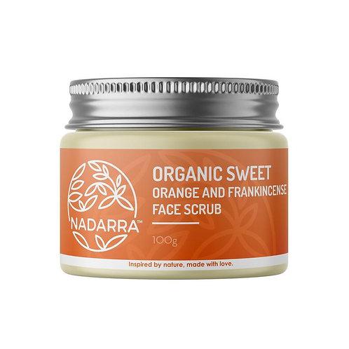 Nadarra Face Scrub - Orange and Frankincense