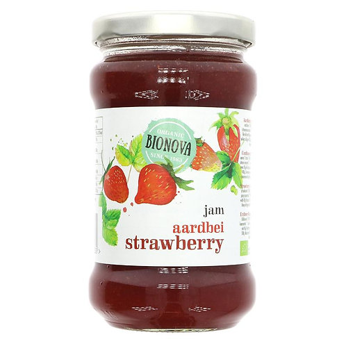Bionova Organic Strawberry Jam 340g