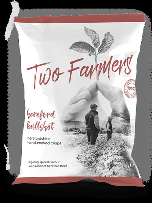 Two Farmers Crisps, Hereford Bullshot, 40g
