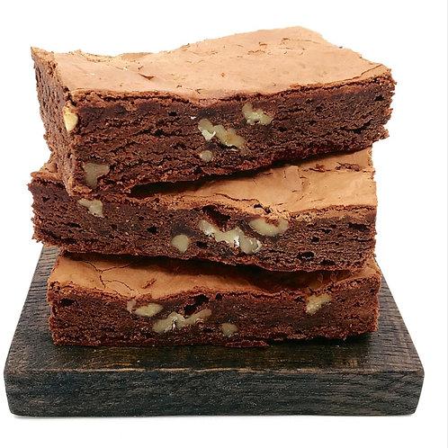 Large Chocolate & Walnut Brownie