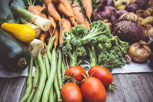 Organic Weekly Just Veg Box - Large