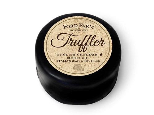 English Cheddar with Black Truffles