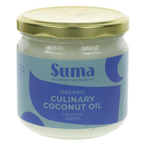 Coconut oil - Culinary