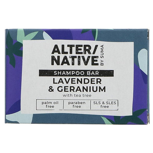 Alternative Lavender & Geranium shampoo bar