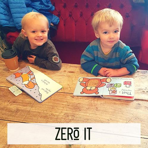 Zero It - Kids sandwich and veg pot