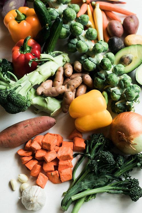 Organic Weekly Just Veg Box - Small