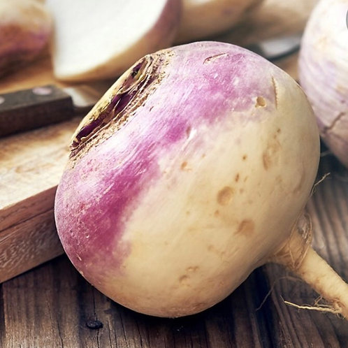 Organic Purple Turnips
