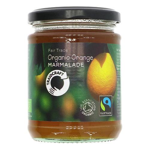 Organic Fair Trade Orange Marmalade 340g