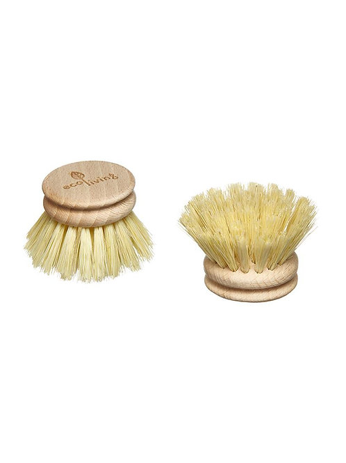 Eco Living Replaceable Wooden Dish brush heads