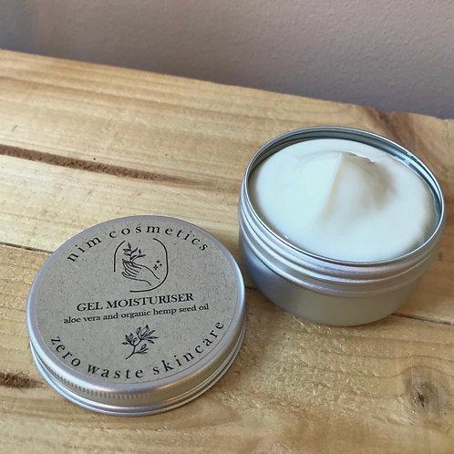 Aloe Vera and Organic Hemp Seed Oil Gel Moisturiser