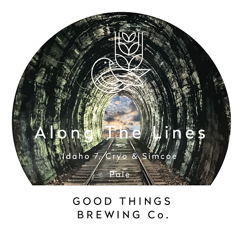 Along the Lines DDH Pale Ale 440ml