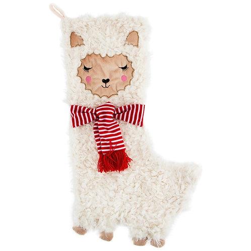 Fa La La Llama Christmas Stocking