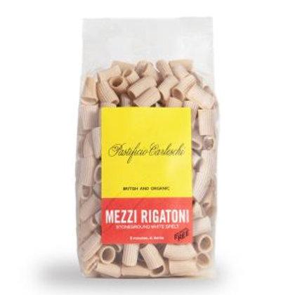 Organic White Spelt Rigatoni