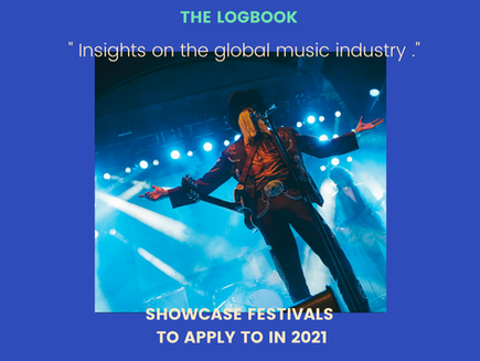 Showcase festivals to apply to in 2021