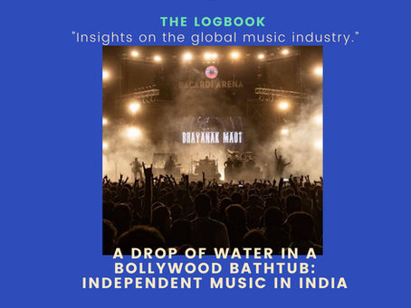 A drop of water in a Bollywood bathtub: Independent Music in India