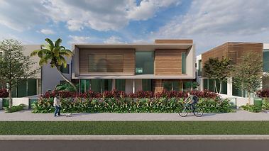 RLC Architects, residential, apartment, buildig, modern, florida, south, duplex, townhouse, boca isles