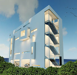 RLC Architects, residential, apartment, buildig, modern, florida, south, townhose, Alex De Angelis