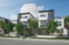 RLC Architects, residential, apartment, buildig, modern, florida, south, townhouse, duplex