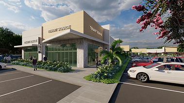RLC Architects, retail, commercial, office, buildig, modern, florida, south, delray plaza