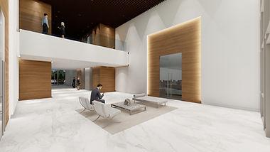 RLC Architects, Interior, modern, office, lobby, Alex De Angelis