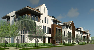 RLC Architects, residential, apartment, buildig, modern, florida, south, townhouse