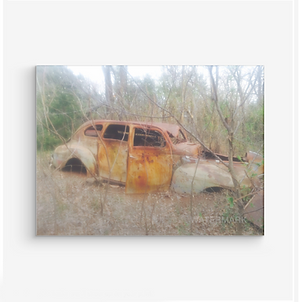 Gangster Abandoned Vehicle Photograph