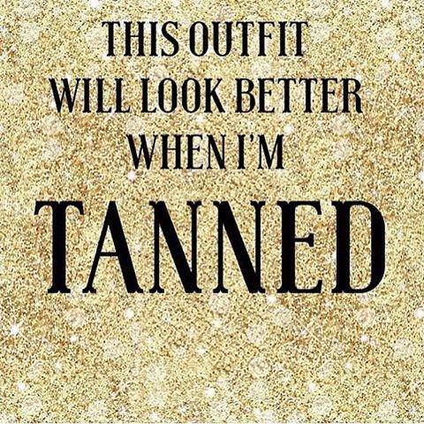 tanning banner