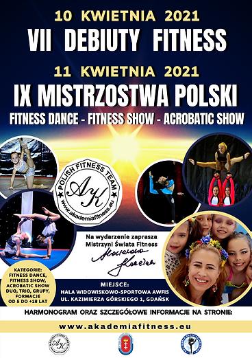 plakat VIII DEBIUTY i XI Ms Polski 10-11