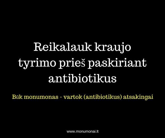 Antibiotikų atmintinė