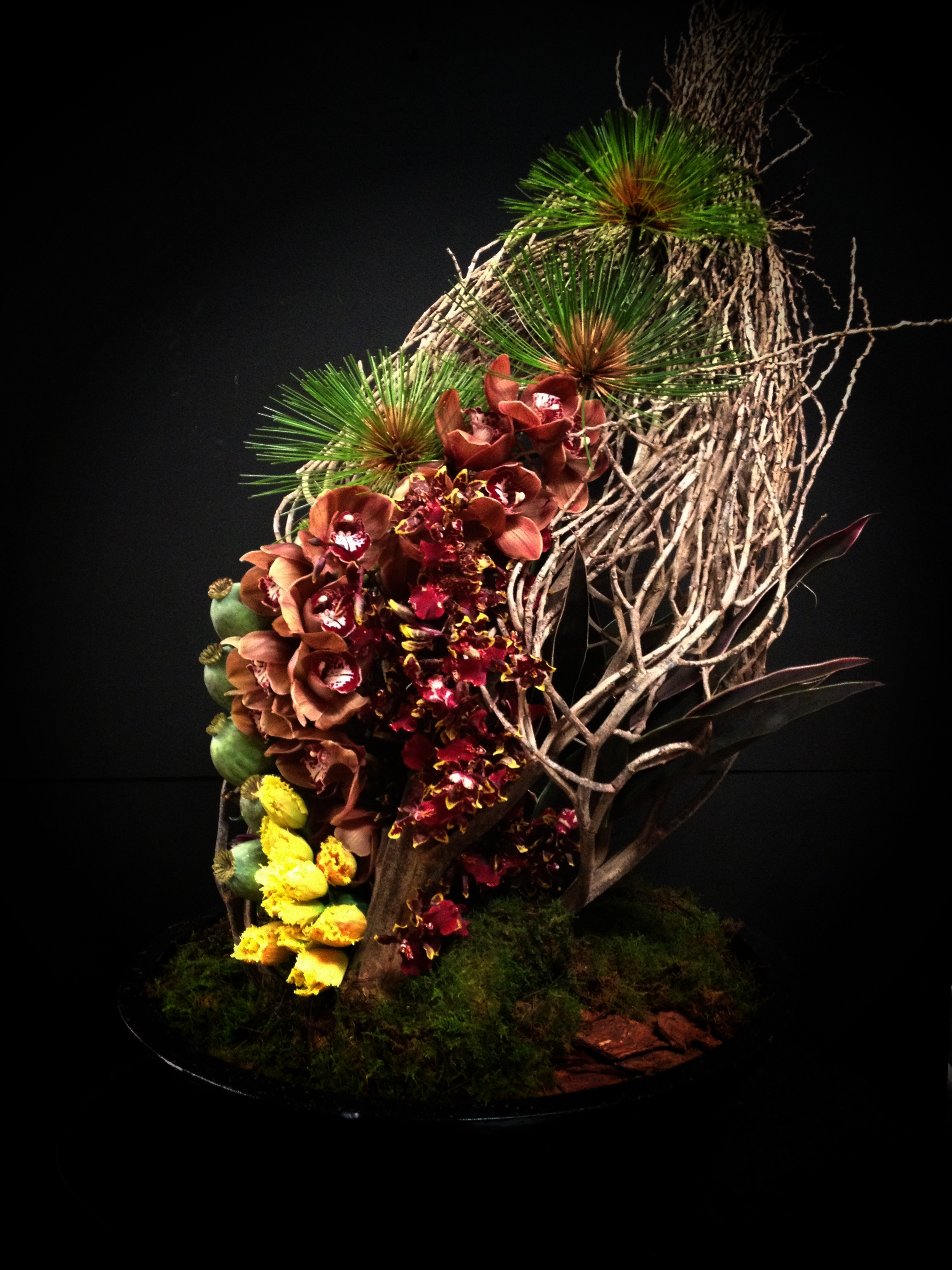 Sculptural Floral Design