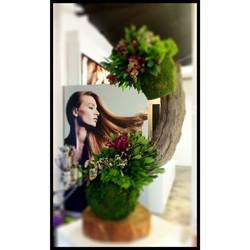 Sculptural floral design we created for