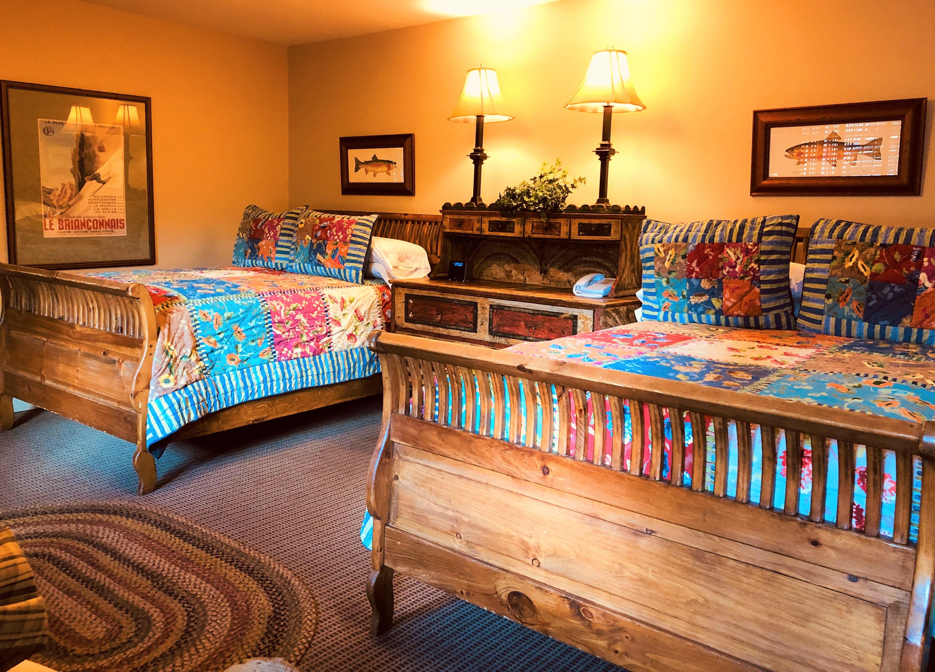 Premium Room: 2 Full or Queen Beds