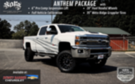 Dewey Barber Chevy 2500 Anthem Sales Fly