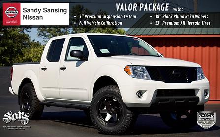Sandy San Nissan Frontier Valor Hero Car
