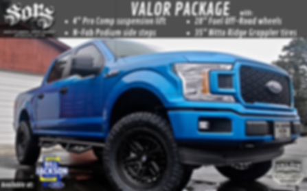 Bill Jackson Ford F-150 Valor Sales Flye