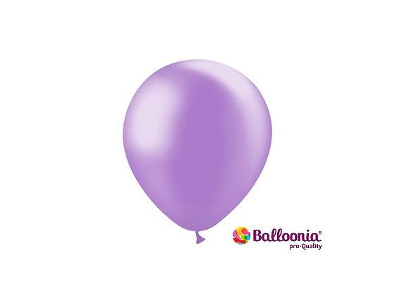 "5"" Balloonia Metallic Lavender 100ct"