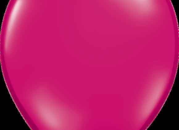 "11"" QLTX Jewel Magenta 100ct"