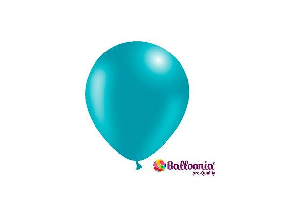 "5"" Balloonia Turquoise 100ct"