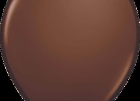 "11"" QLTX Chocolate Brown 100ct"