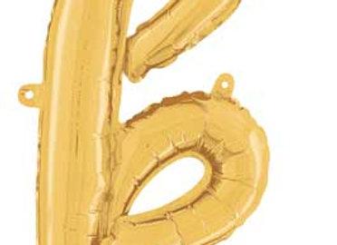 "34711GP - 24"" Script Letter  ""k"" Gold"