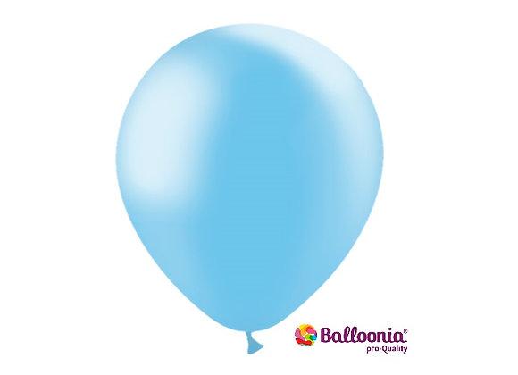 "12"" Balloonia Metallic Sky Blue 50ct"