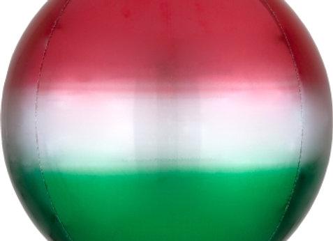 "40214 - 16"" Ombré Orbz™ Red & Green"